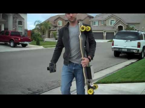 Homemade Electric Skateboard