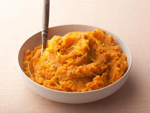 Rachael Ray's Tasty Mashed Sweet Potatoes - from