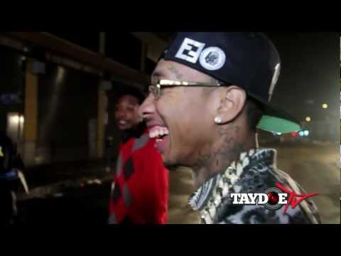 Tyga & Game - Switch Lanes (Behind The Scenes)