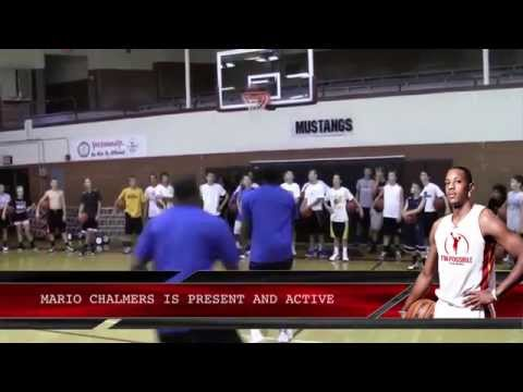 Mario Chalmers Miracle Shot Basketball Camp with Micah Lancaster