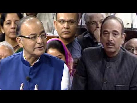 Ghulam Nabi Azad Gave Respect To ISIS Says Arun Jaitley