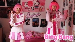 LazyTown - Viivi and Sarah dancing to Bing Bang [Video from 2012]