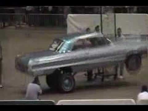 64 Impala Lowrider Hop LRM Tour 2008 Video