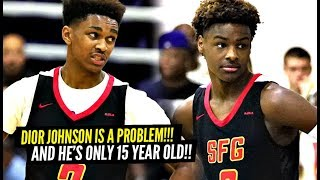 Dior Johnson IS ONLY 15 & TOO Hard To Guard!! Strive For Greatness Puts on a SHOW AGAIN!!