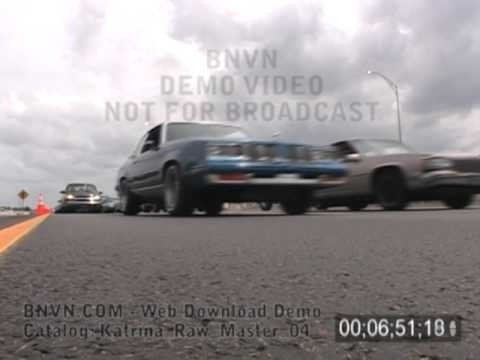8/28/2005 New Orleans, LA - Massive Contraflow Evacuations Video - Katrina Raw Master 04
