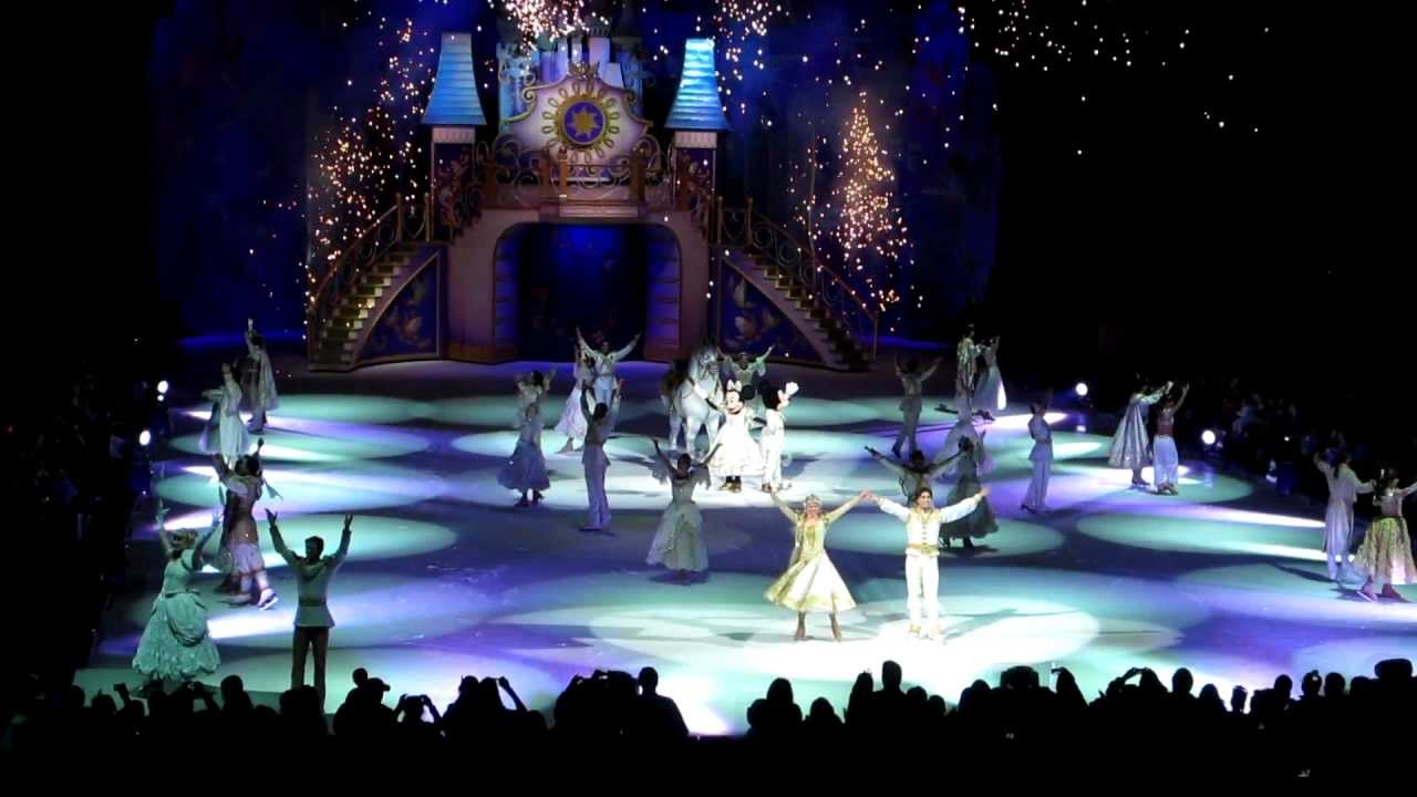 Disney On Ice Dare To Dream Finale Youtube