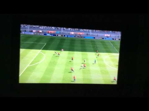 Van Persie diving header goal on fifa 15!