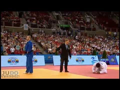 Judo European Championships 2013: ILIADIS (GRE) - MARMELJUK (EST) Elimination [-90kg]