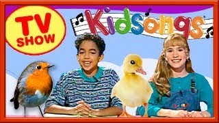 Kidsongs Swings into Spring | The Way You Walk | Racoon & Possum| Side By Side| Kidsongs TV Show