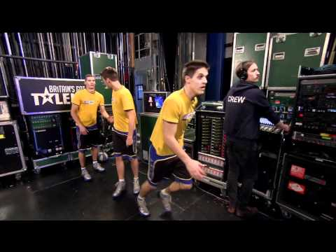 Britain's Got Talent | The Face Team Basketball Acrobatics | 14/04/2012
