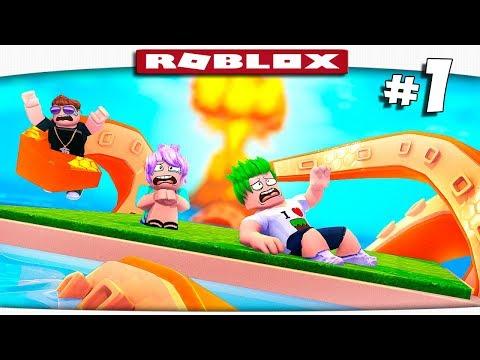 ВЫЖИВАНИЕ НА ОСТРОВЕ СМЕРТИ!! - Roblox #1