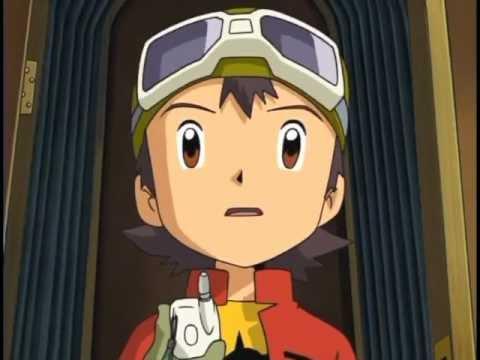 Digimon S4 Ep 1 Digimon Frontier video