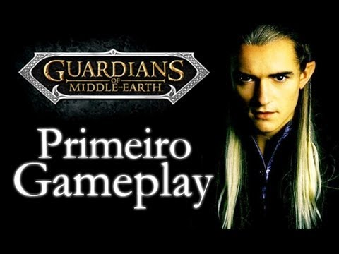 Guardians of Middle-Earth - Primeiro Gameplay - PS3