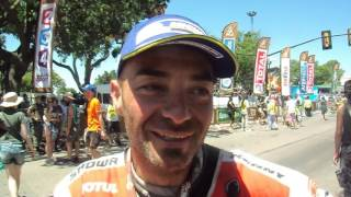 Dakar 2016: Paolo Ceci sul podio di Rosario