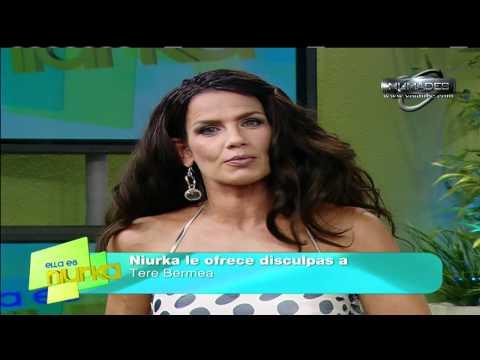 niurka ofrece disculpas a tere bermea por correrla del programa (27-01-11 ella es niurka)
