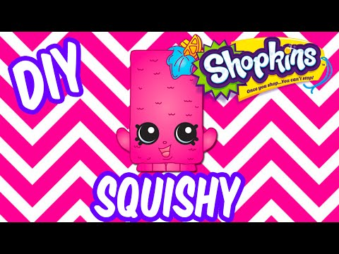 Diy Squishy Without Sponge : Carft Squishy :: VideoLike