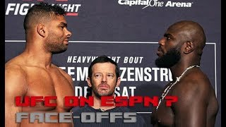 UFC on ESPN 7: Overeem vs. Rozenstruik Face-Offs