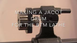 making the jacot tool for a small lathe.