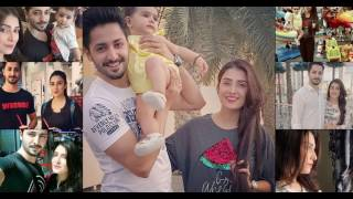 Ayeza Khan and Danish Taimoor with Daughter Hoorain on Family Vacation
