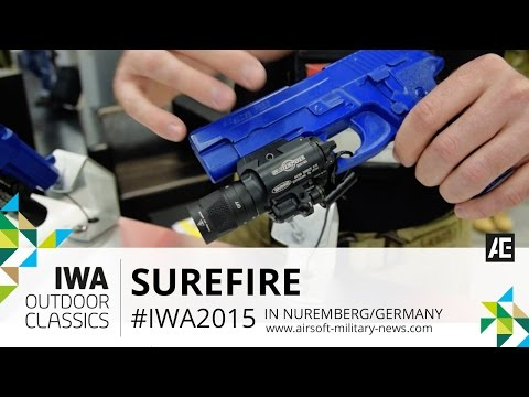 IWA 2015 // SUREFIRE Weapon- and Flashlight Product Overview