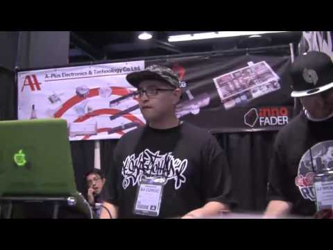DJ Qbert's Favorite Setup at the NAMM Show 2013