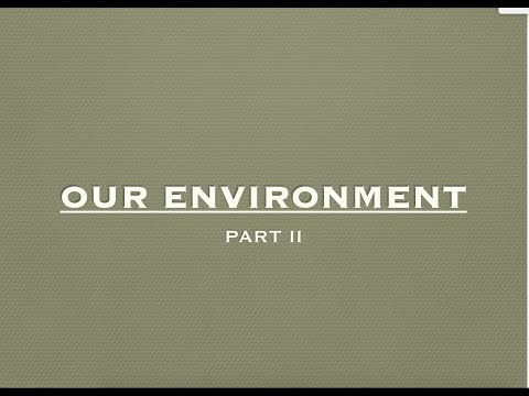 CBSE Class 10th - Biology - Our Environment Part 2 (Hindi)