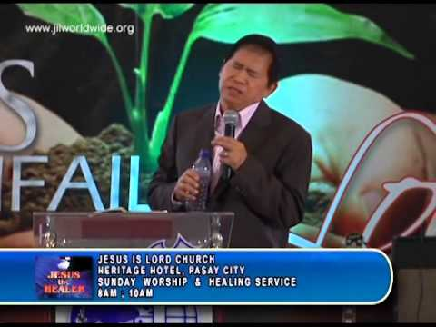 Jesus The Healer at JIL Heritage Hotel-Pasay City