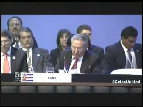 Intervención de Raúl Castro en III Cumbre Celac 2015