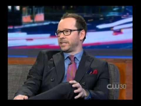 Donnie Wahlberg on Arsenio Hall 11/11/13