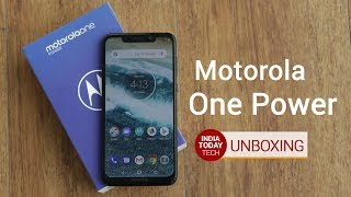 Motorola One Power unboxing and quick review