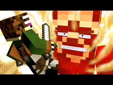 Attack on Minecraft Minecraft Animation