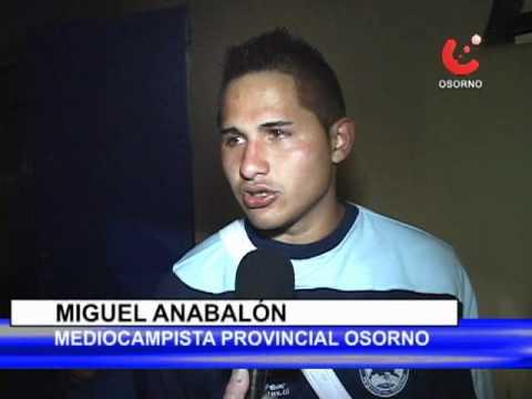 Triunfo de provincial Osorno