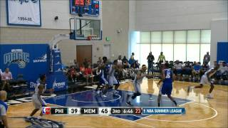 NBA Summer League: Philadelphia 76ers vs Memphis Grizzlies