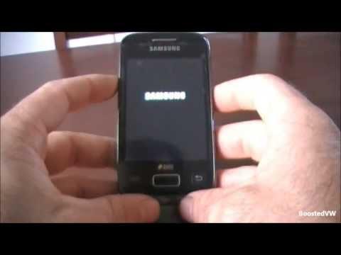 Factory Hard Reset Samsung Galaxy Y duos GT-S6102
