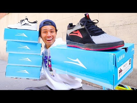 MASSIVE LAKAI SHOES UNBOXING! | My Favorite Shoe Brand