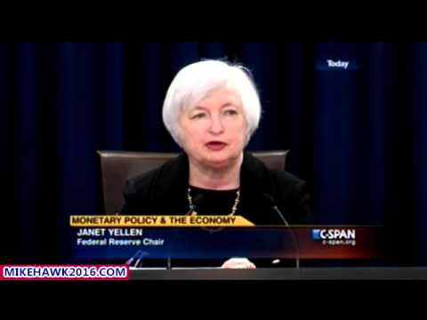 FED Chair Janet Yellen Press Conference On Monetary Policy And The Economy