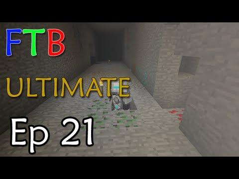 Minecraft: FTB ULTIMATE Ep. 21 - Tinker Table Soldier Spy