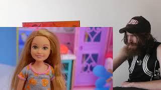 Barbie + LOL Surprise Eat Playdoh Waffle Breakfast ! Cookie Swirl C Video CRAZY REACTION!!!