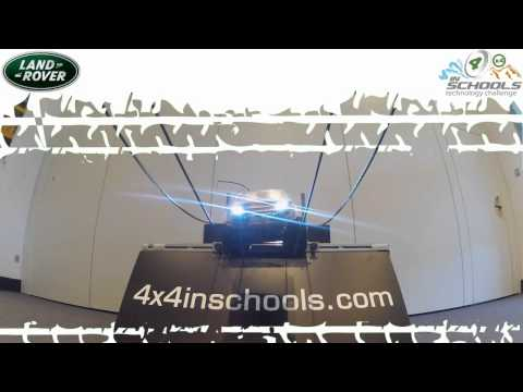 2013 Land Rover 4x4 in Schools UK National Final Sneak Peek