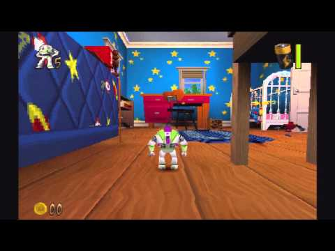 Toy Story 2: Buzz Lightyear to the Rescue! (PS1 Gameplay)