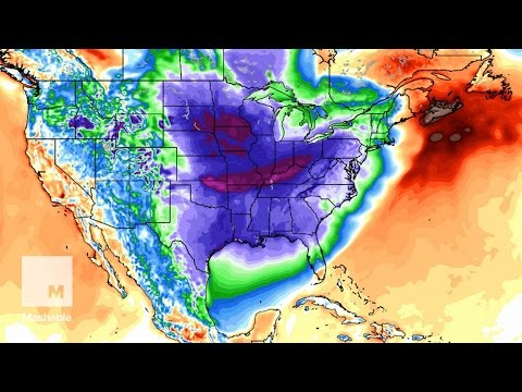 Wobbly polar vortex: Who's facing brutal cold this week   Mashable