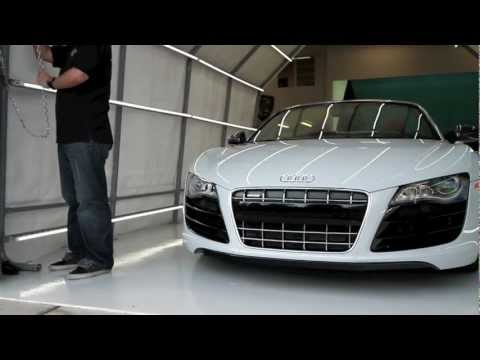 University Audi R8 V10 Spyder Detail Preview at NorthWest Auto Salon