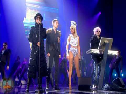 Pet Shop Boys Ft. Lady Gaga & Brandon Flowers - 2009 Brit Awards Perfomance video