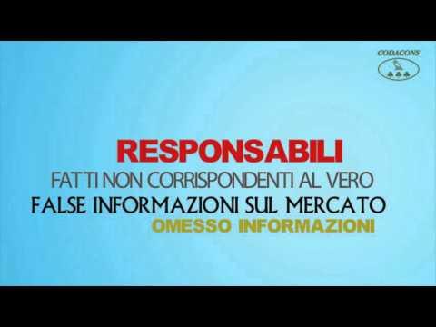 Caso Monte dei Paschi di Siena, l'iniziativa Codacons