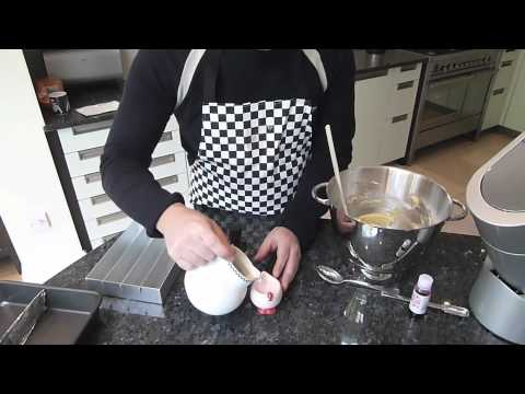 How to make cakes 7 - Battenburg cake Part 1