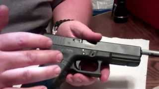 Glock 25 Cent Trigger Job / glock disassembly and reassembly