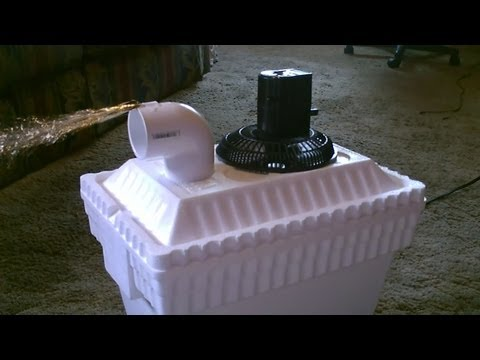 Cooler Styrofoam Air Conditioner How To Save Money And