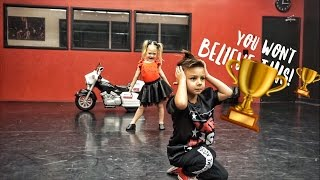 4 YEAR OLDS AMAZING DANCE ROUTINE!!!
