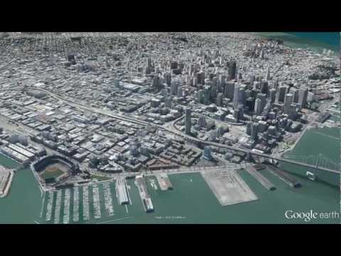 New 3D imagery of San Francisco in Google Earth 7