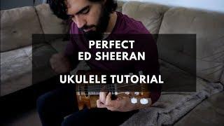 Download Lagu Ed Sheeran - Perfect ( Ukulele Instrumental Tutorial ) Gratis STAFABAND